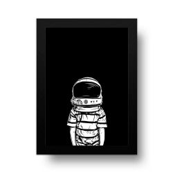 Placa Decorativa Astronauta