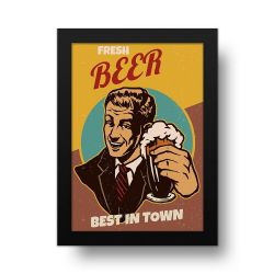 Placa Decorativa Beer Retro_2