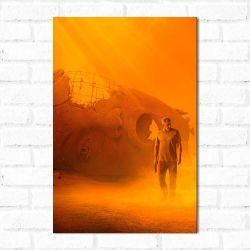 Placa Decorativa Blade Runner 2049 1