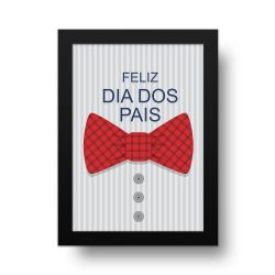 Placa Decorativa Camisa Listrada