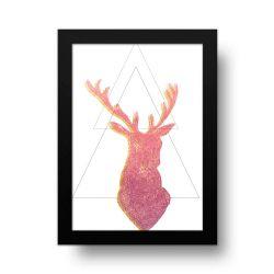 Placa Decorativa Cervo 2