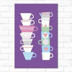 Placa Decorativa Chá da Tarde