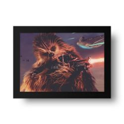 Placa Decorativa Chewbacca