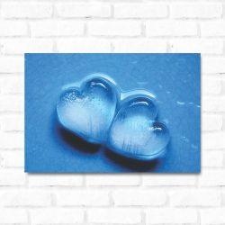 Placa Decorativa Coração Gelado