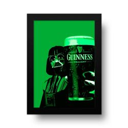 Placa Decorativa Darth Vader Guinness