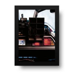 Placa Decorativa De Volta Para o Futuro 1