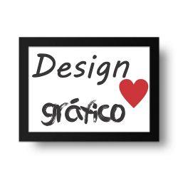 Placa Decorativa Design Gráfico