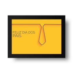 Placa Decorativa Dia dos Pais Gravata