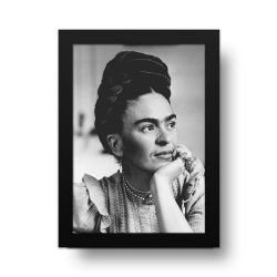 Placa Decorativa Frida kahlo 1