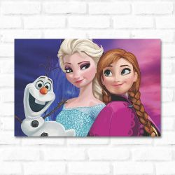 Placa Decorativa Frozen 2