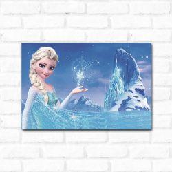 Placa Decorativa Frozen Elsa