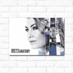 Placa Decorativa Grey's Anatomy 2