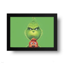 Placa Decorativa Grinch
