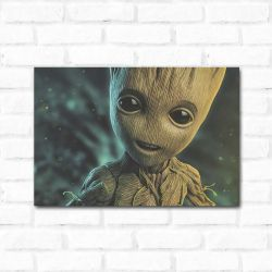 Placa Decorativa Groot