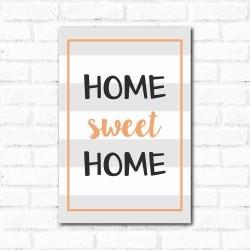 Placa Decorativa Home Sweet Home