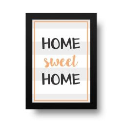 Placa Decorativa Home Sweet Home