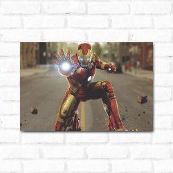 Placa Decorativa Homem de Ferro 4