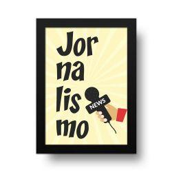 Placa Decorativa Jornalismo