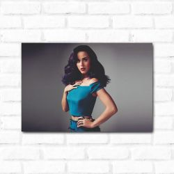 Placa Decorativa Katy Perry 2