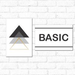 Placa Decorativa Kit Basic