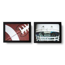 Placa Decorativa Kit Futebol Americano