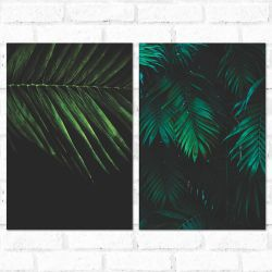 Placa Decorativa Kit Hi Nature 2