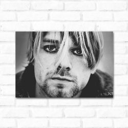 Placa Decorativa kurt Cobain