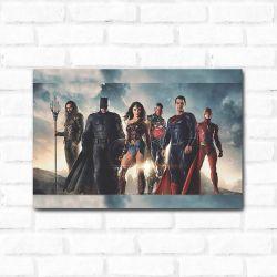 Placa Decorativa Liga da Justiça 2