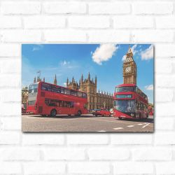 Placa Decorativa London 2