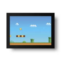Placa Decorativa Mario 1