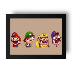 Placa Decorativa Mario 3
