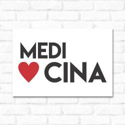 Placa Decorativa Medicina 2