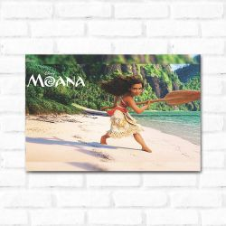 Placa Decorativa  Moana 4