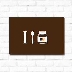 Placa Decorativa Nutella