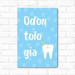Placa Decorativa Odontologia