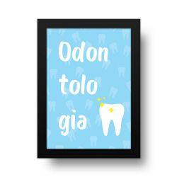 Placa Decorativa Odontologia