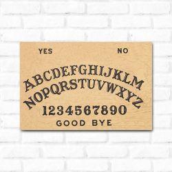 Placa Decorativa Ouija 1