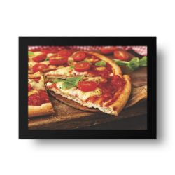 Placa Decorativa Pegando Pizza