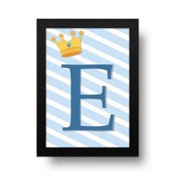 Placa Decorativa Personalizado Príncipe
