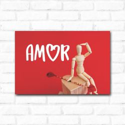 Placa Decorativa Procurando Amor