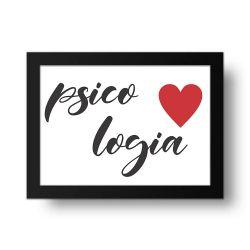 Placa Decorativa Psicologia 2
