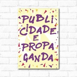Placa Decorativa Publicidade