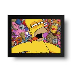 Placa Decorativa Simpsons 1