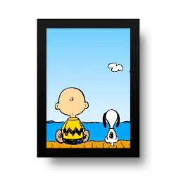 Placa Decorativa Snoopy