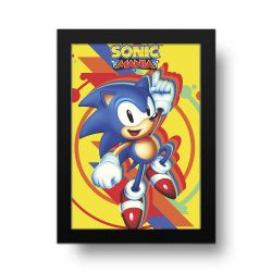 Placa Decorativa Sonic 1
