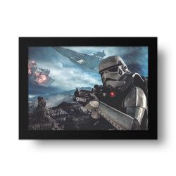 Placa Decorativa Star Wars 2
