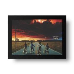 Placa Decorativa Stranger Things 2