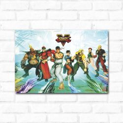 Placa Decorativa Street Fighter 1