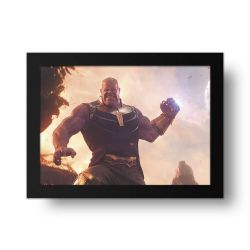 Placa Decorativa Thanos