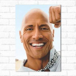 Placa Decorativa The Rock